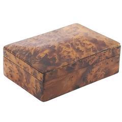 Precious Wood Box in the Style of Aldo Tura