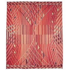 Swedish Flat-Weave Wall Hanging by Barbro Nilsson, AB Märta Måås-fjetterström