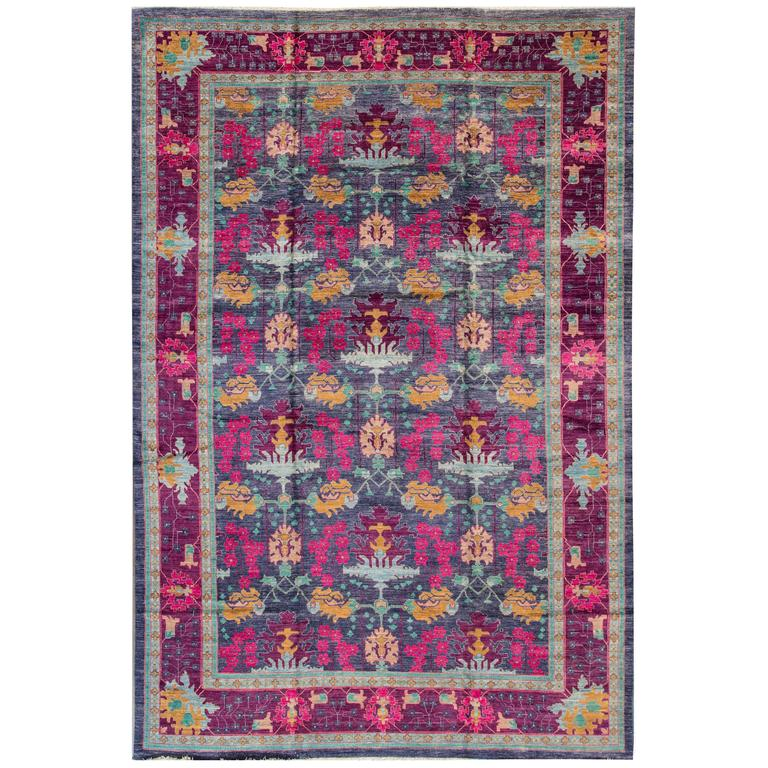 Rugs Made In India For Sale: Modern Arts And Crafts For Sale At 1stdibs