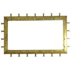 20th Century golden Iron Frame