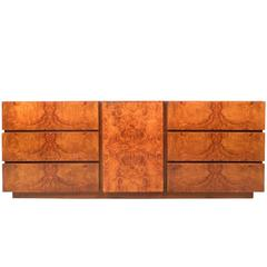 Mid-Century Modern Burl Dresser by Lane Furniture