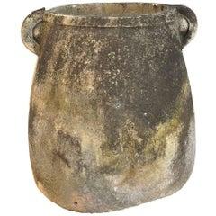 Monumental and Important 17th Century Greek Marble Jar, Urn