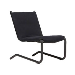 Bowline Chair in Black Canvas - In Stock