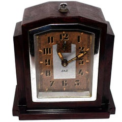 Fabulous 1930s Art Deco Bakelite Clock by JAZ