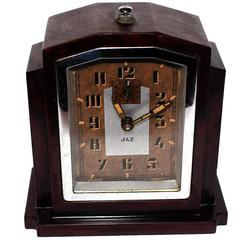 Fabulous 1930s Art Deco Bakelite Clock by JAZ