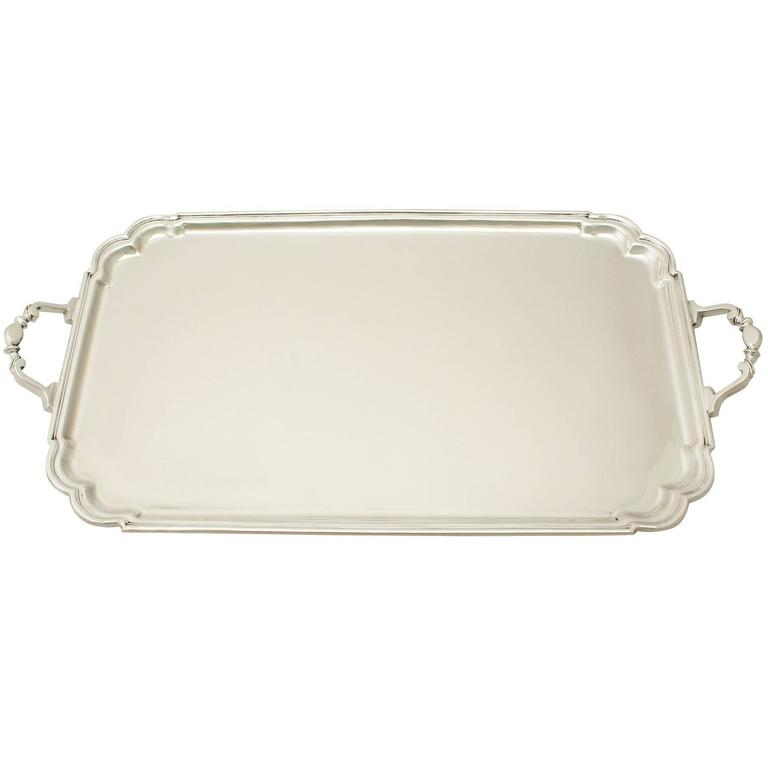 Sterling Silver Drinks Tray