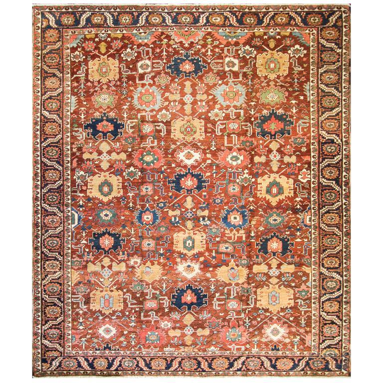 Unusual Serapi Carpet For Sale