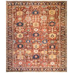 Unusual Serapi Carpet