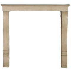 19th Century Original French Country Original Antique Fireplace Mantle