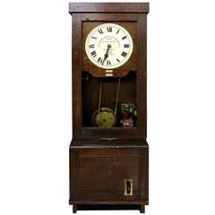 English Clocking-On Machine