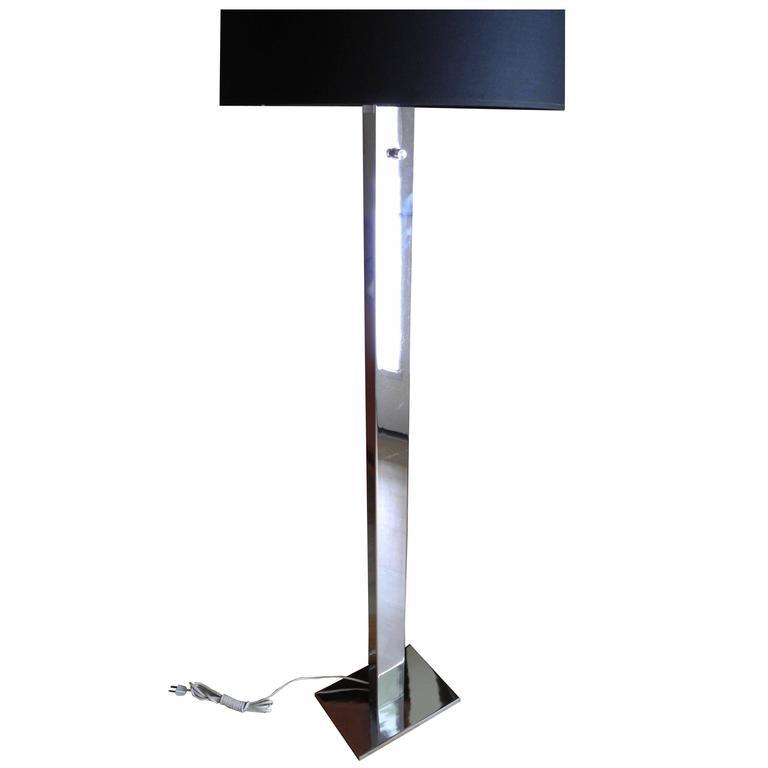 Modern chrome floor lamp by george kovacs 1960s for sale at 1stdibs modern chrome floor lamp by george kovacs 1960s for sale aloadofball Choice Image