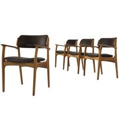 Erik Buck Four Dining Chairs