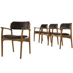 Erik Buck Four Dining Chairs