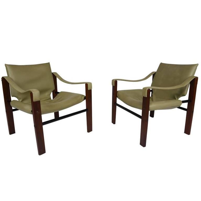 Pair of Safari Chairs by Maurice Burke for Arkana at 1stdibs : C71362orgl from www.1stdibs.com size 768 x 768 jpeg 22kB