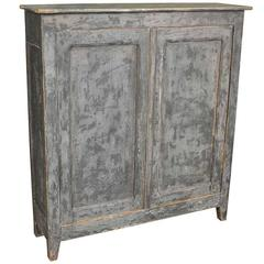 19th Century French Narrow Cabinet