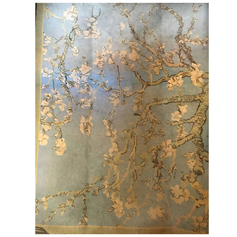 Vincent Van Gogh Blossoming Almond Tree Carpet By Ege