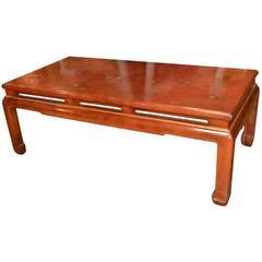 Custom French Made Oriental Coffee Table