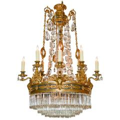 Superb 19th Century French Empire Chandelier