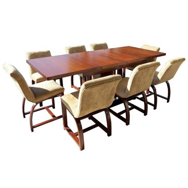Gilbert Rohde American Art Deco Dining Room Modern Home
