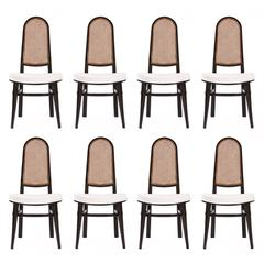 Edward Wormley Set of Eight Dining Chairs