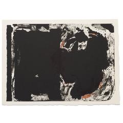 After Robert Motherwell Lithograph