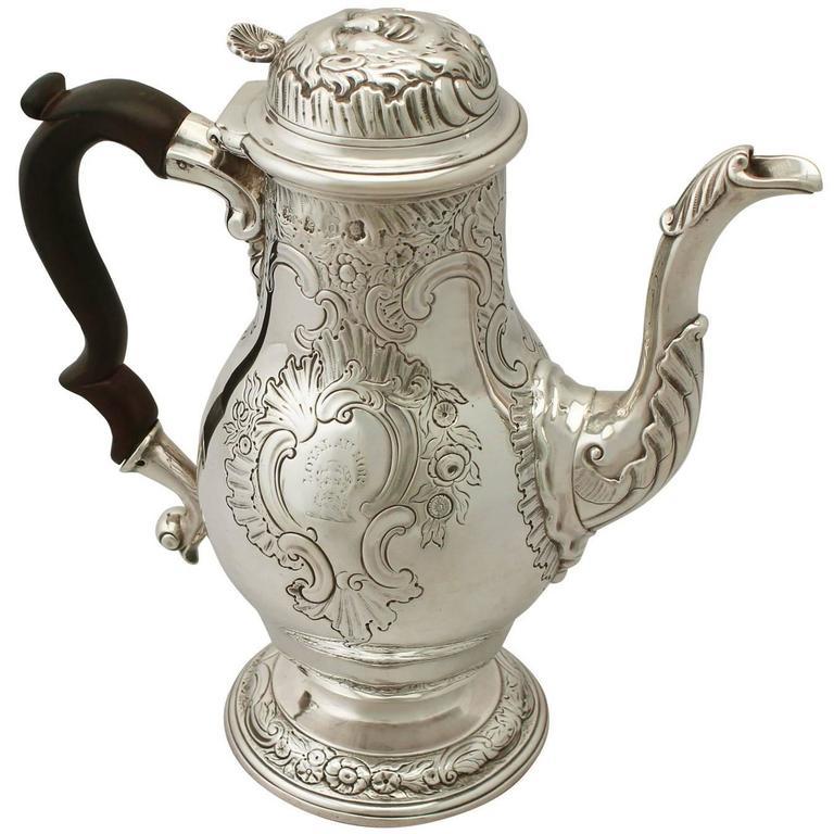 Sterling Silver Coffee Pot