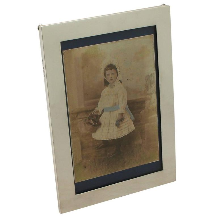 Sterling Silver Photograph Frame For Sale