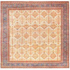 Beautiful Square Persian Bakshaish Rug