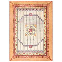Rare Art Nouveau Austrian Carpet