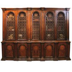 Rare 18th Century Tuscan Walnut Archival