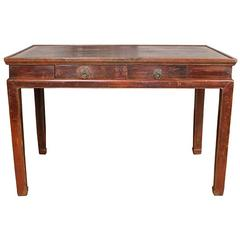 Early 20th Century Chinese Lacquered Desk