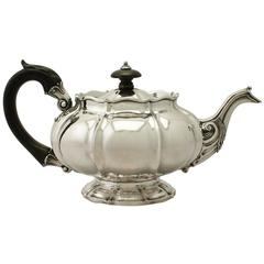 Antique George IV Sterling Silver Teapot