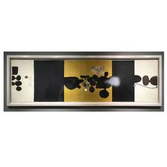 1973 What Is the Object over There? Points of Contact No. 17 by Victor Pasmore