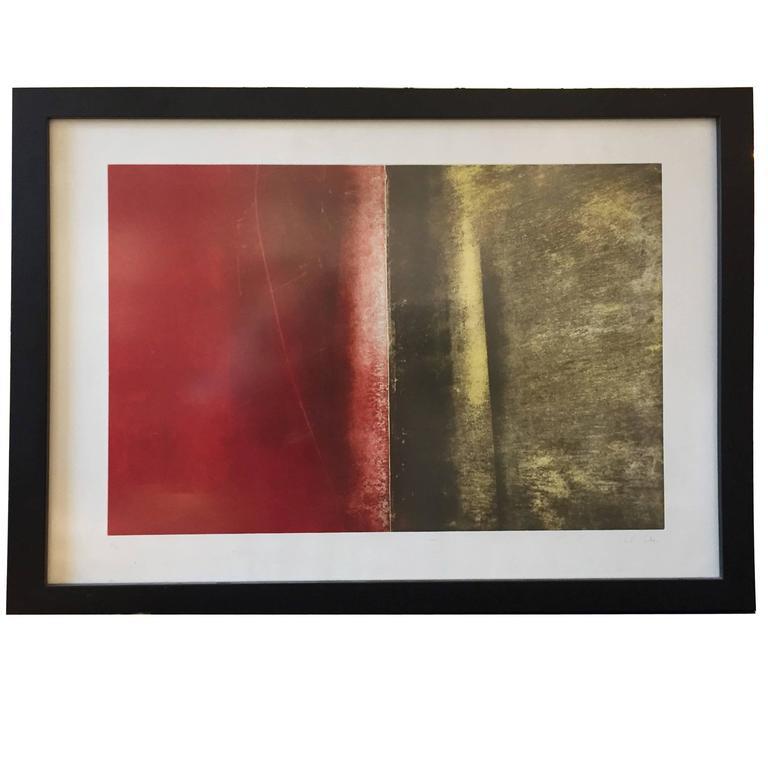 Framed, Landscape Digital Print Artwork