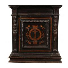 Late 19th Century Renaissance Style Carved Cabinet