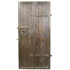 High Quality Oak Feature Door, circa 1900