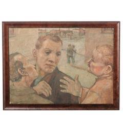Modernist Trio Portrait II, circa 1930
