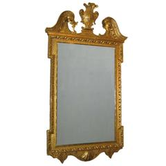 19th Century Carved Giltwood Wall Mirror