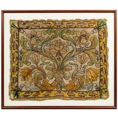17th Century European Framed Needlework