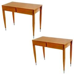 Gio Ponti Pair of Console Tables