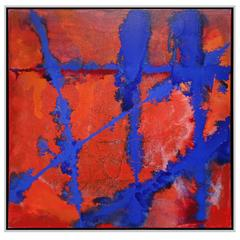 "Brady Legler ""Blue Fence"" 2015"