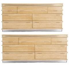 Jay Spectre Pair of His and Hers Dressers