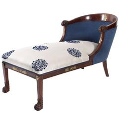 Empire Style Chaise Lounge