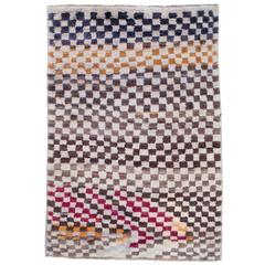 "Checkerboard ""Tulu"" Rug"