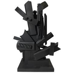 Black Assemblage III by Seymour Meyer