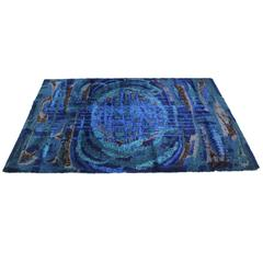 1970s Extra Large Vintage Abstract Rug by Desso
