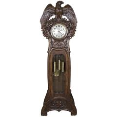 "Swiss ""Black Forest"" Grandfather Clock, circa 1900"
