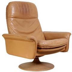 De Sede Leather Swivel Chair