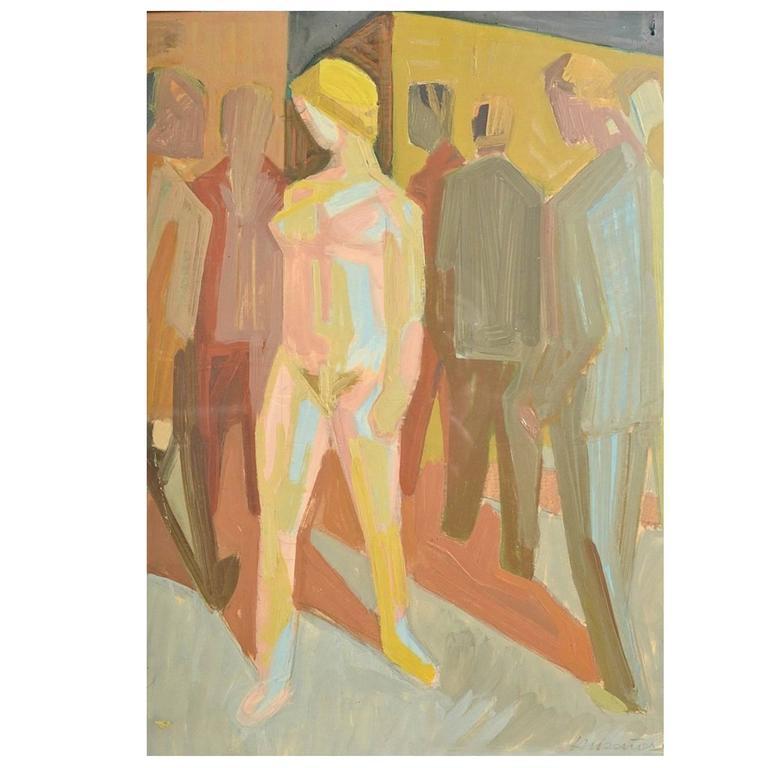 """Harald Wilhelm Lauesen """"Nude and the Men"""""""