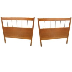 Pair of Vintage Mid-Century Paul McCobb Headboards